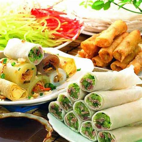 new year 7 vegetables 春卷