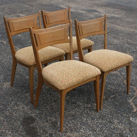 Heywood Wakefield Dining Chair 4 Vintage Heywood Wakefield Side Dining Chairs M1981a