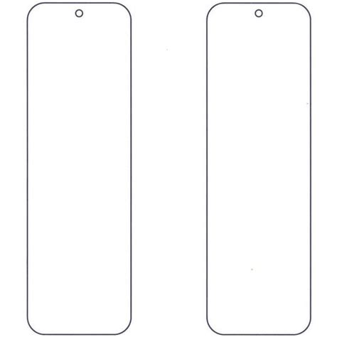 free blank bookmark templates to print 25 best ideas about bookmark template on