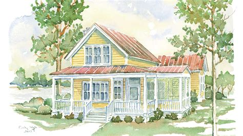 southern living house plans one story cottage living house plans we know you ll love