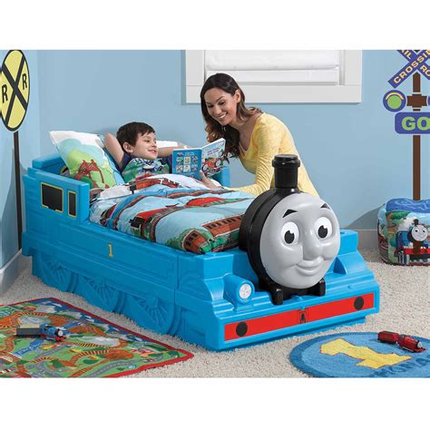 thomas the tank engine toddler bed train toddler bed thomas the tank engine and friends bedroom furniture kids baby ebay
