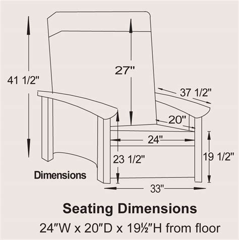 reclining chair dimensions shaker seating recliner ohio hardwood furniture