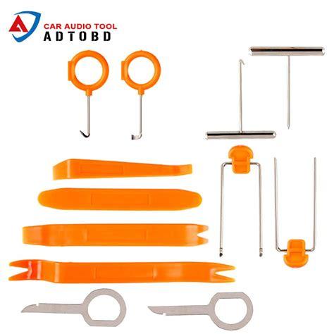 Diu 12pcs Set Professional Vehicle Dash Trim Tool Car Door dash kit radio promotion shop for promotional dash kit