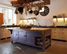 what to put on a kitchen island blue kitchen island just decorate