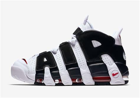 Sepatu Basket Air More Uptempo Bulls Black White nike air more uptempo scottie pippen pe sneakernews
