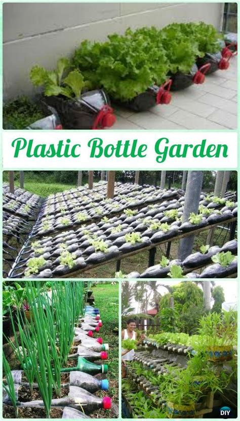 diy plastic bottle garden projects ideas bottle garden