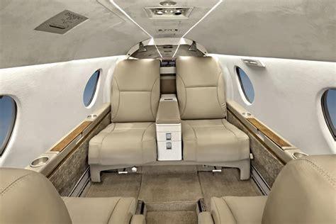 Falcon 10 Interior by Falcon 10 N244a Club Jet