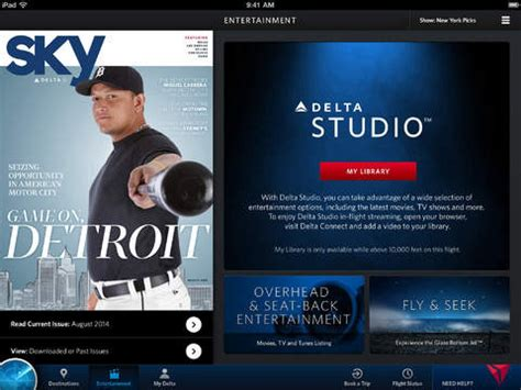 delta flight entertainment delta airlines launches in flight entertainment for ios
