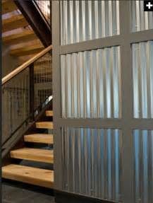 corrugated metal wall empire pinterest