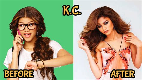 after cast zendaya kc undercover before and after cast 2016 2