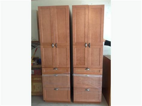 Rona Cupboards by Rona Everwood Cinnamon Kitchen Cabinets Central Saanich