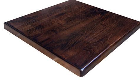 in stock ready to ship solid wood restaurant tops