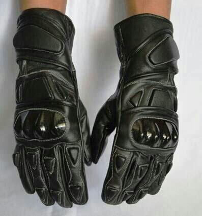 Jual Sarung Tangan Kulit Putih jual sarung tangan kulit asli hitam di lapak irwan irones