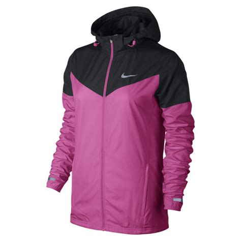 Jaket Running Nike Waterproof Ungu 1 nike s vapor jacket pink sports leisure thehut