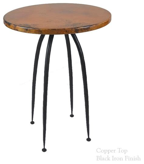 round bar top table pinnacle 40 quot bar table with 30 quot round top craftsman