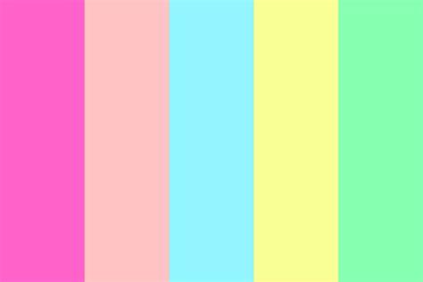 gum color bubblegum color palette