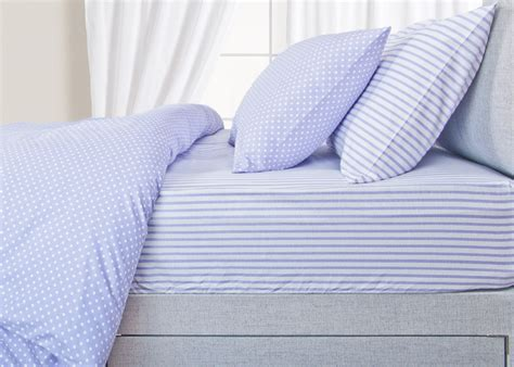 Egyptian Cotton Bed Linen Sale - helena springfield 100 brushed cotton bedding in lilac and blue lancashire textiles