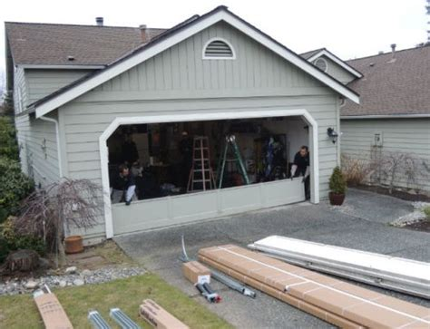 Garage Door Repair Kent Wa Garage Door Repair Project In Kent Washington By Elite