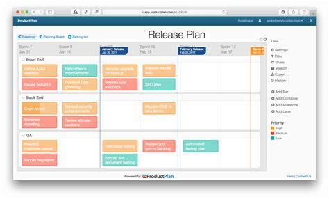 Release Plan Template