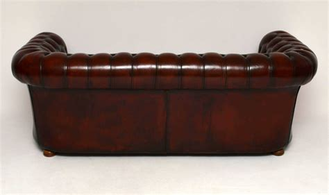 antique leather chesterfield sofa marylebone antiques