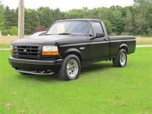 94 Ford Lightning Buy Used 94 F150 Lightning Flat Black Truck Gt40 351