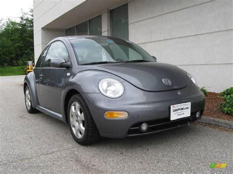 volkswagen grey 2002 platinum grey metallic volkswagen beetle gls 1 8t