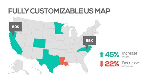 us map outline for powerpoint us map template wordscrawl