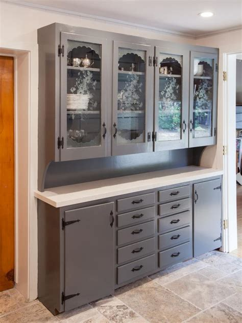 Etched Glass Designs For Kitchen Cabinets Photo Page Hgtv
