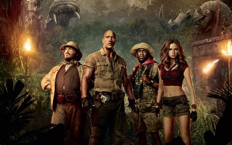 jumanji welcome to the jungle 2017 movie wallpapers hd wallpapers