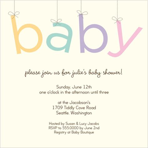 baby shower announcements baby shower invitations 21st bridal world wedding