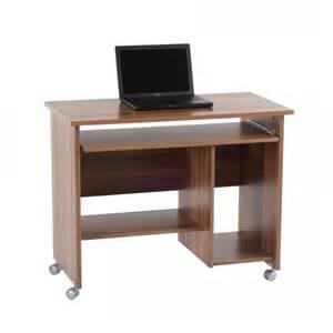 bureau d ordinateur tirana noyer home24 fr