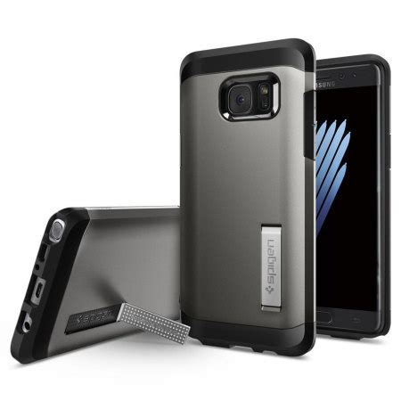 Spigen Galaxy Note 7 Tough Armor spigen tough armor samsung galaxy note 7 gunmetal