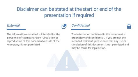 disclaimer powerpoint templates  slidemodel