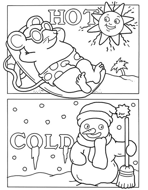 welcome coloring pages for toddlers welcome to dover publications with opposites