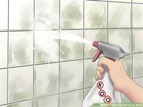 5 ways to remove bathroom mold wikihow