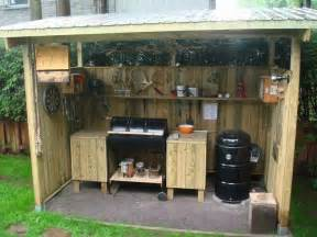 Backyard Bbq Mount Bbq Shed Needs A Comfy Chair And Mini Frig Mount