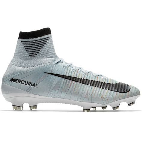 Superfly5 Blue White nike mercurial superfly v cr7 fg soccer cleats blue tint