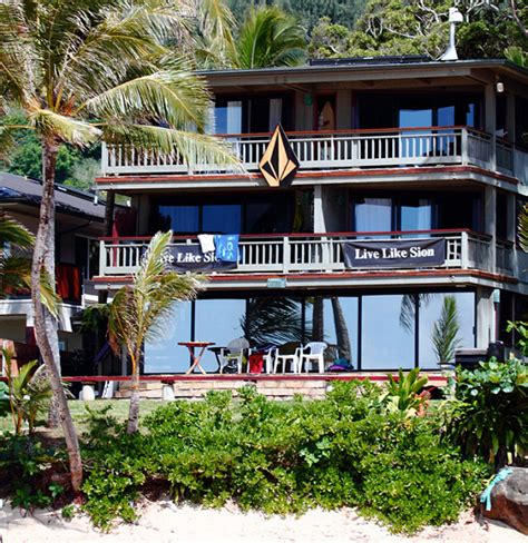 houses in hawaii the best surf company beach houses in hawaii jim caldwell s photolog of hawaii s