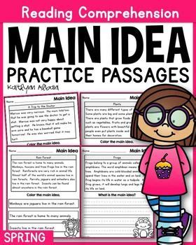 main idea exercises multiple choice pdf find the main main idea multiple choice decimal work and main idea