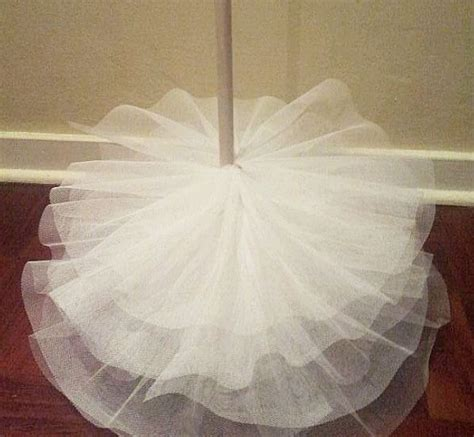 how to decorate tree with tulle no sew tulle tree trees tulle