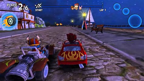 beach buggy racing character gameplay rez youtube