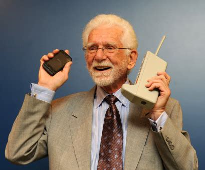 martin cooper inventor of the cell still prefers the