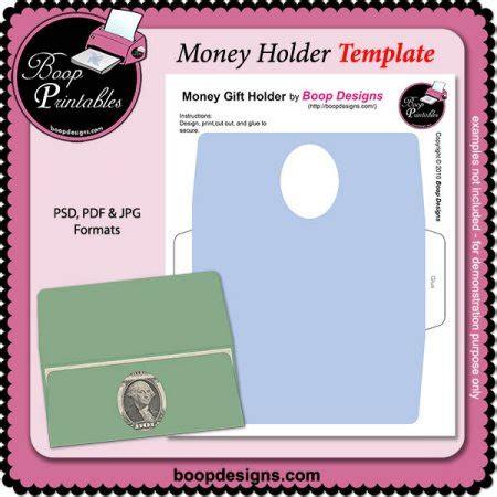 Money Holder Template by Money Holder Template By Boop Printable Designs Money