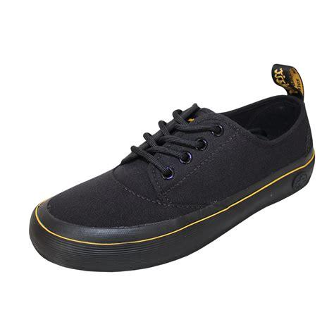 dr martens quot jacy quot womens canvas shoes black order