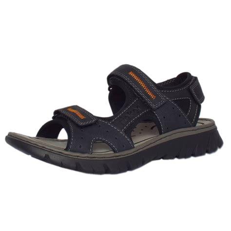 navy mens sandals rieker sandals basque mens sport sandal in navy mozimo