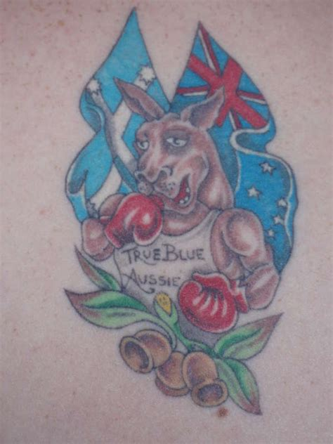 aussie tattoos designs true blue aussie