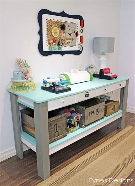 craft room work table craftaholics anonymous 174 craft room tour virginia at