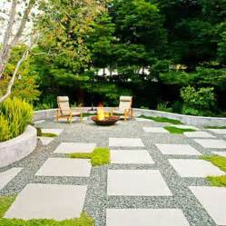 Patio Pavers Gravel No Grass Backyard Garden The O Jays