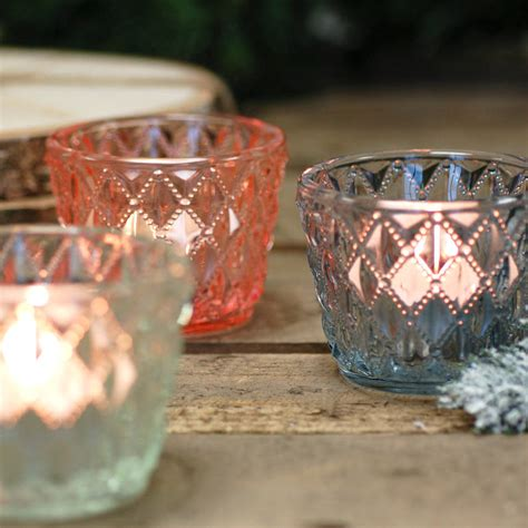 three glass votive tea antique vintage light holders by three glass votive tea antique vintage light holders by