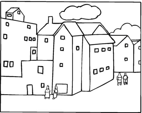 apartment coloring page free apartment coloring pages
